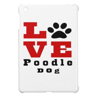 Love Poodle Dog Designes iPad Mini Covers