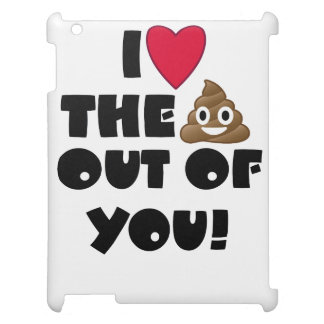 Love Poop Emoji Cover For The iPad 2 3 4