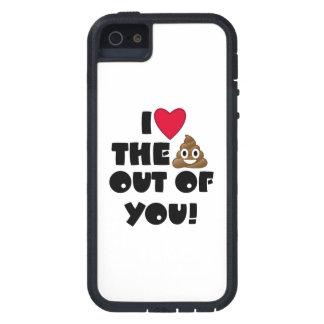 Love Poop Emoji iPhone 5 Cases