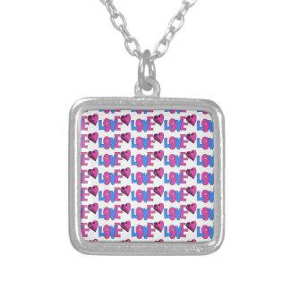 love pop.jpg square pendant necklace