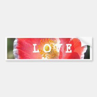 Love Post It Notes Bumper Sticker