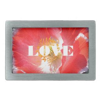 Love Post It Notes Rectangular Belt Buckle