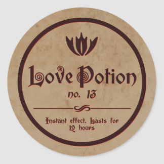 Love Potion | Vintage Halloween Label