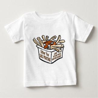 love poutine baby T-Shirt