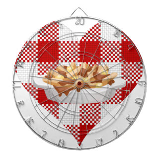 love poutine dartboard