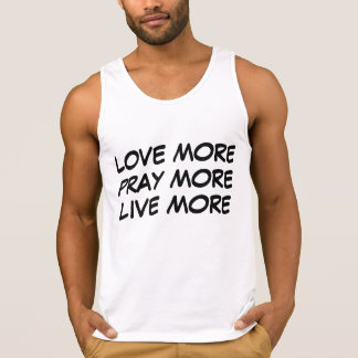 Love & Pray More Tanktops