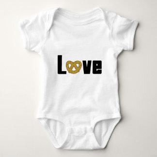 Love Pretzels Baby Bodysuit