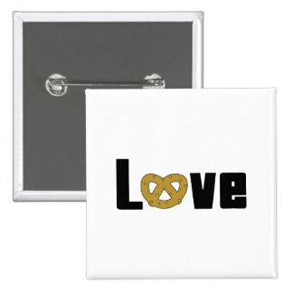Love Pretzels Button