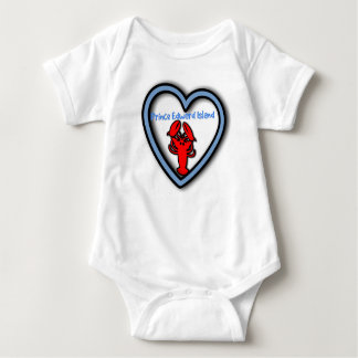 Love Prince Edward Island Lobster baby sleeper Baby Bodysuit