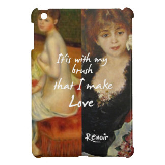 Love principal source in Renoir's masterpieces iPad Mini Cases