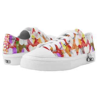love printed shoes