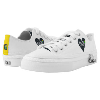 Love Puctto.Fashion zip low top shoes Printed Shoes