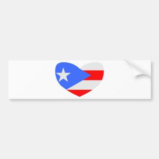 Love Puerto Rico Bumper Sticker