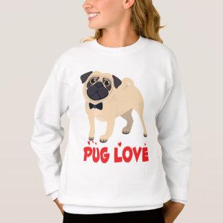 Love Pug Puppy Dog Cartoon Sweatshirt