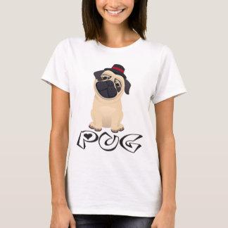 Love Pug Puppy Dog Cartoon Women's T-Shirt