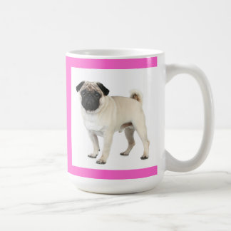 Love Pug Puppy Dog Coffee Cup Mug