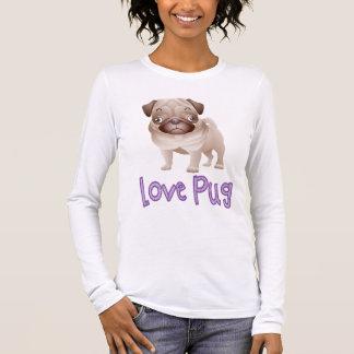 Love Pug Puppy Dog Graphic T-Shirt