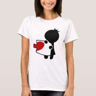 Love Puzzle Couple Women's Basic T-Shirt