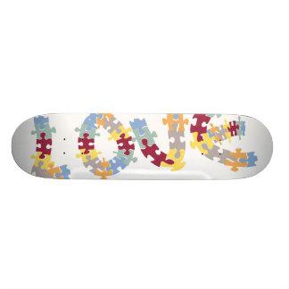 love puzzle skate deck