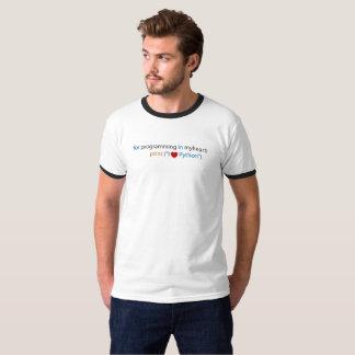 Love Python Coding - Python Lover T-Shirt