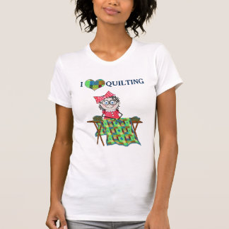 LOVE QUILTING T-SHIRT - QUILTER MELODY COLLECTION
