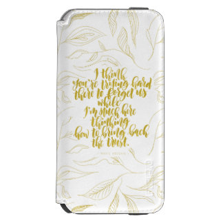 Love Quotes: Trying Hard There To Forget Us Incipio Watson™ iPhone 6 Wallet Case