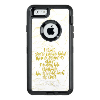 Love Quotes: Trying Hard There To Forget Us OtterBox iPhone 6/6s Case