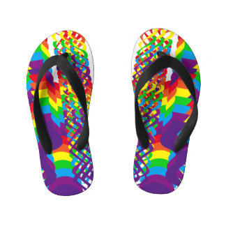 Love Rainbow Colors Design Thongs