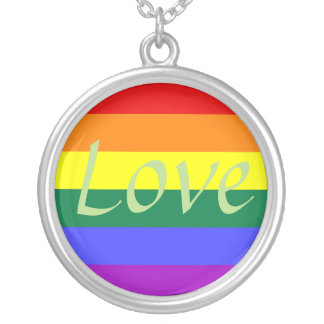 LOVE, Rainbow Necklace