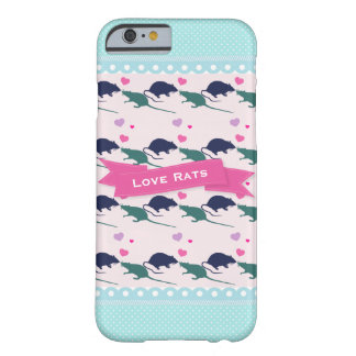 Love Rats Polka Dot Barely There iPhone 6 Case