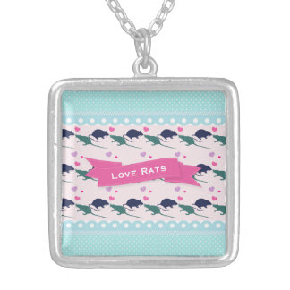 Love Rats Polka Dot Necklace