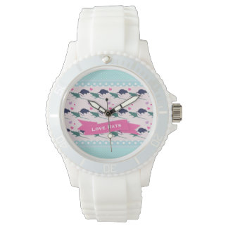 Love Rats Polka Dot Watch