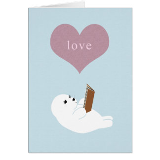Love Reading Card