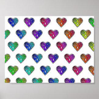 Love Records Wallpaper Print