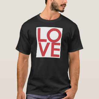 LOVE - Red and White - Valentine's Day T-Shirt