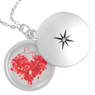 Love Red Heart Locket