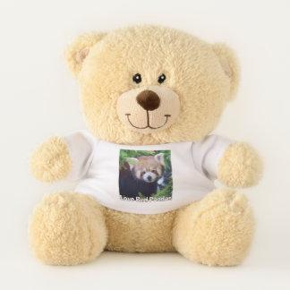 Love Red Pandas Teddy Bear
