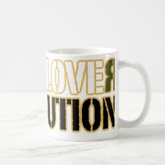 LOVE REVOLUTION BASIC WHITE MUG