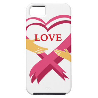 LOVE RIBBON CASE FOR THE iPhone 5