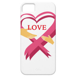 LOVE RIBBON iPhone 5 COVERS