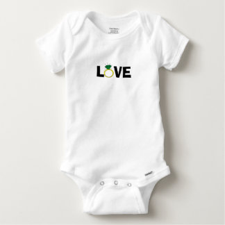 Love Ring Baby Onesie