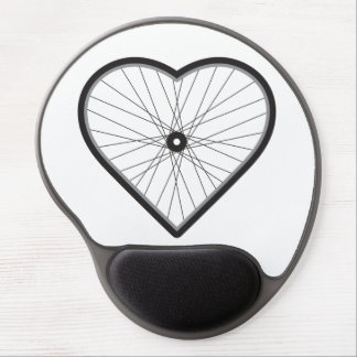 Love Road Cycling Gel Mouse Mats