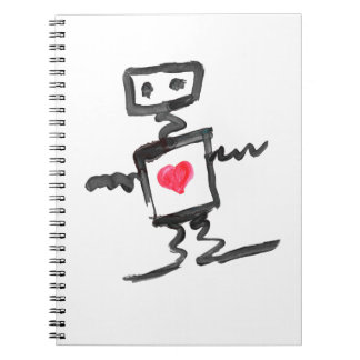 Love Robot Note Book