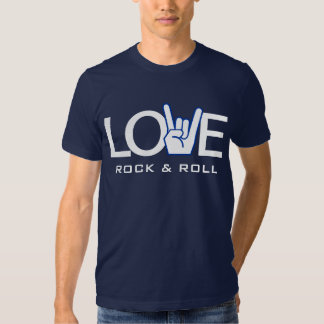 Love Rock & Roll Tee Shirts