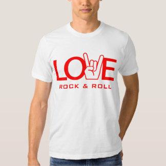 Love Rock & Roll Tshirt