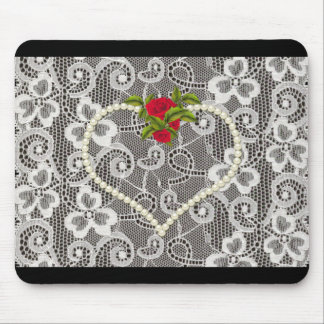 """"""" Love & Romance"""" Add Your Own Text Mouse Pad"""