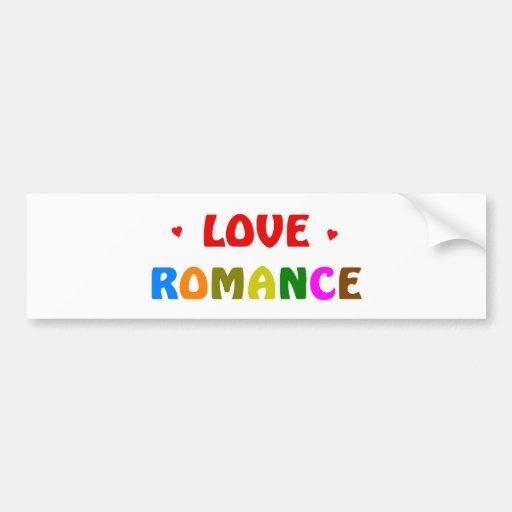 Love Romance Bumper Sticker