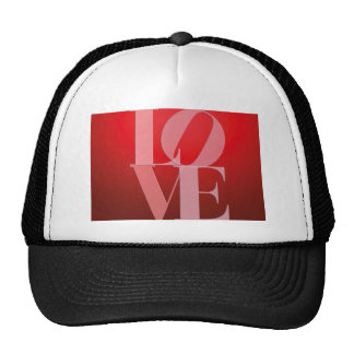 Love Romance Red Pink Cap