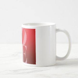Love Romance Red Pink Coffee Mug