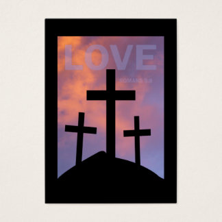 LOVE – Romans 5:8 Tract Cards /
